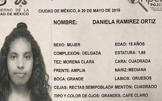 PGJ analiza datos de teléfono para dar con homicida de Daniela Ramírez - Foto de PGJ