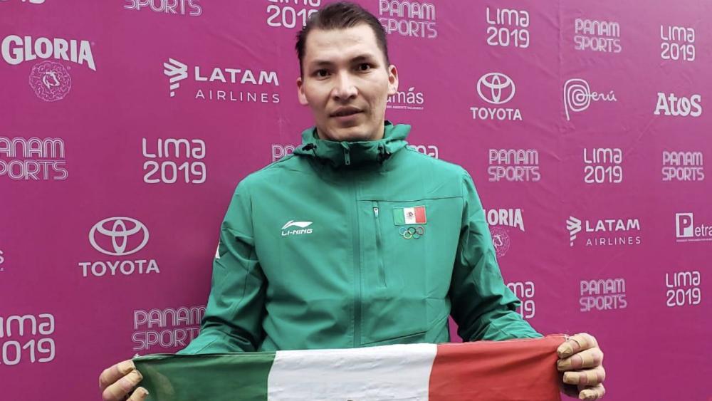 David Álvarez da el quinto oro para México en frontón de Lima 2019 - Foto de @CONADE