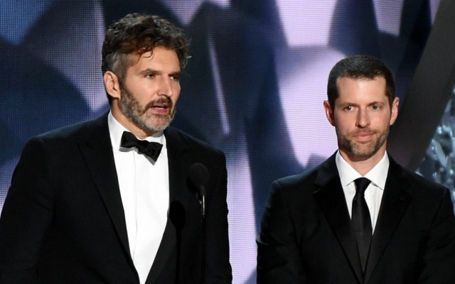 Netflix contrata a los creadores de Game of Thrones - David Benioff y DB Weiss. Foto de Rex
