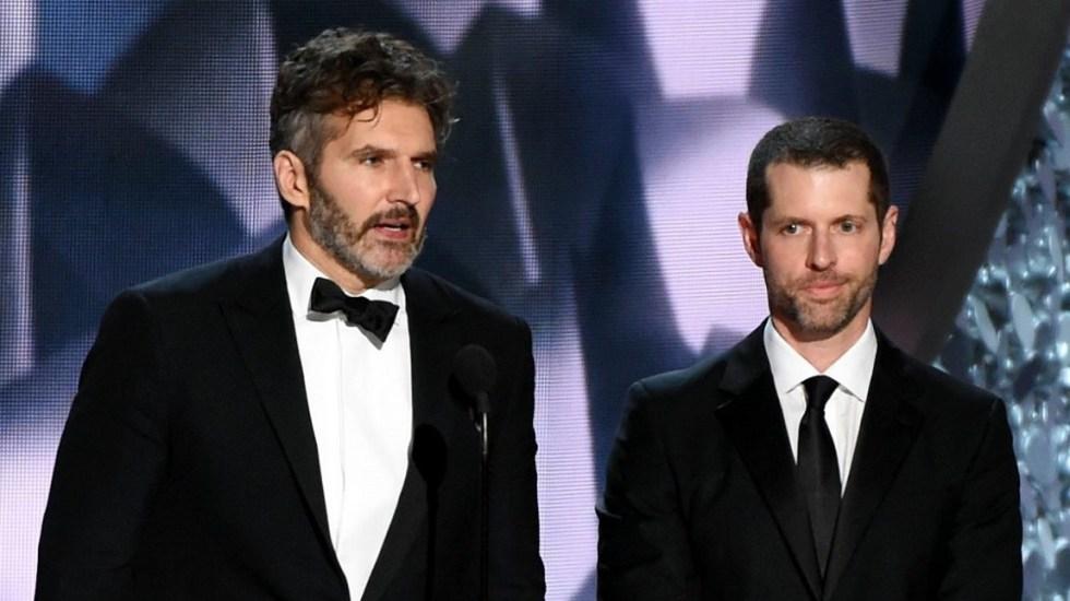 Netflix contrata a los creadores de Game of Thrones - David Benioff y DB Weiss. Foto de Rex