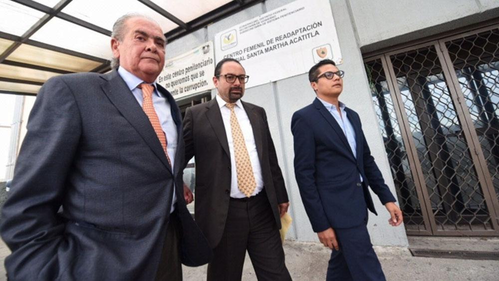 Defensa de Robles solicitará remoción de juez por parentesco con Padierna - defensa rosario robles