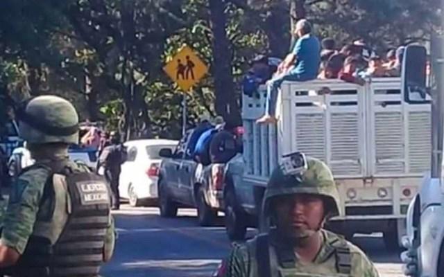 """Guerrero confirma desplazamiento de 112 personas tras captura de """"El Carrete"""" - desplazados guerrero"""