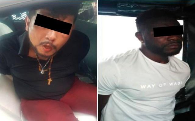 Detienen a presuntos integrantes de La Unión Tepito en Iztapalapa - detenidos la unión tepito iztapalapa