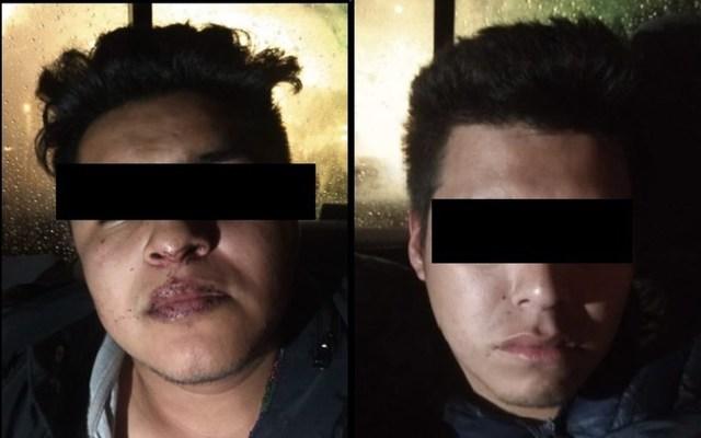 Detienen a dos hombres por secuestro de colombiano en Puebla - detenidos secuestro colombiano