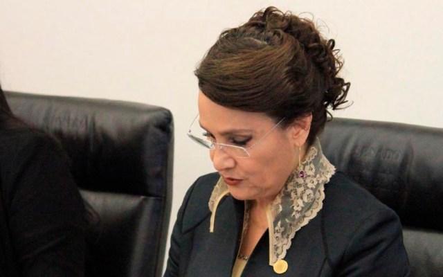 Dolores Padierna rechaza hablar de presunto parentesco con juez que encarceló a Rosario Robles - dolores padierna rosario robles