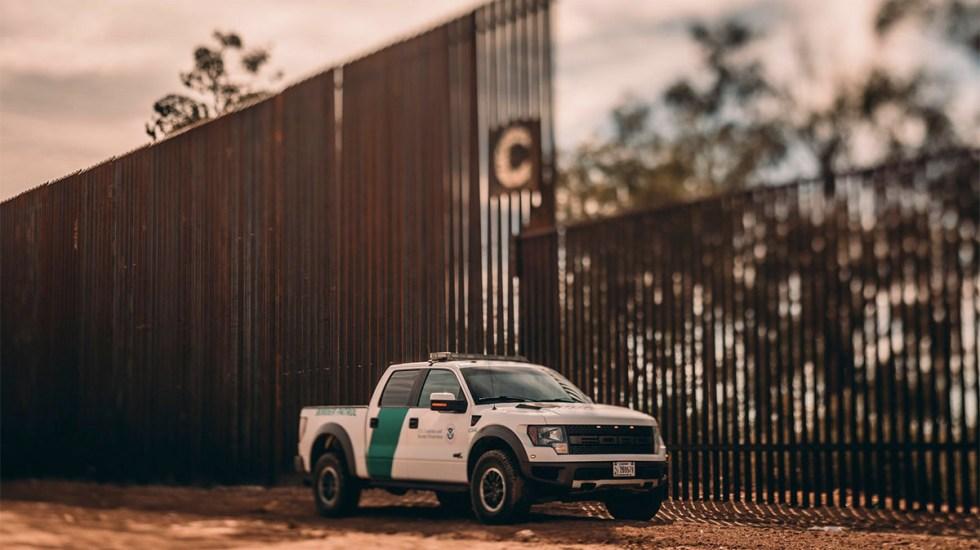 Donald Trump presume nuevas secciones del muro fronterizo - donald trump muro fronterizo