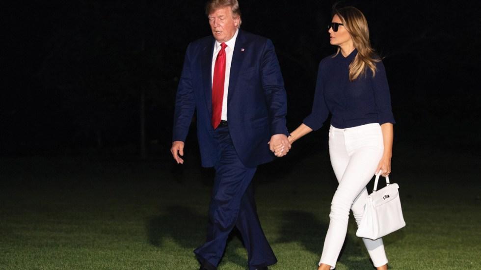 Al presidente Trump le gustaría que Melania conociera a Kim Jong-un: Casa Blanca - Foto de EFE