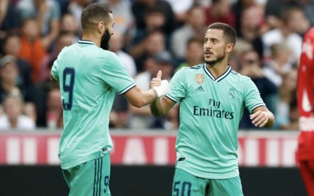 Eden Hazard ya fue factor en el triunfo del Real Madrid - Foto de Real Madrid