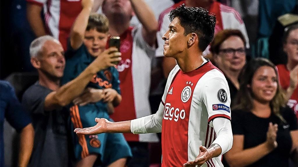 Edson Álvarez debuta en la Champions League con gol - édson álvarez gol ajax champions league