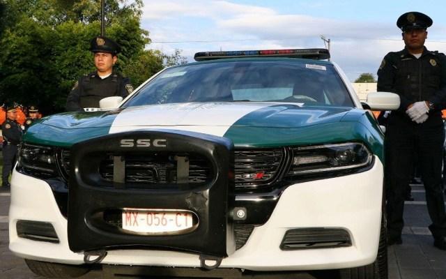 Concluye entrega de patrullas en las 16 alcaldías de la Ciudad de México - Entrega de patrullas a la alcaldía Coyoacán. Foto de @GobCDMX