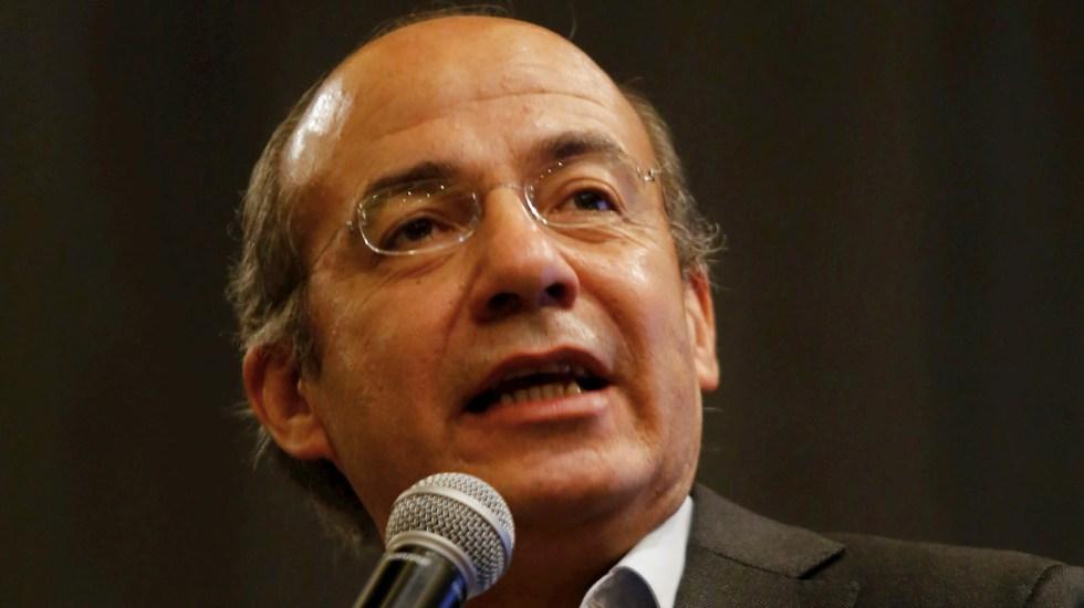 """""""Mi postura será siempre en favor de la justicia"""", asegura Calderón tras detención de García Luna - Felipe Calderón Hinojosa expresidente"""