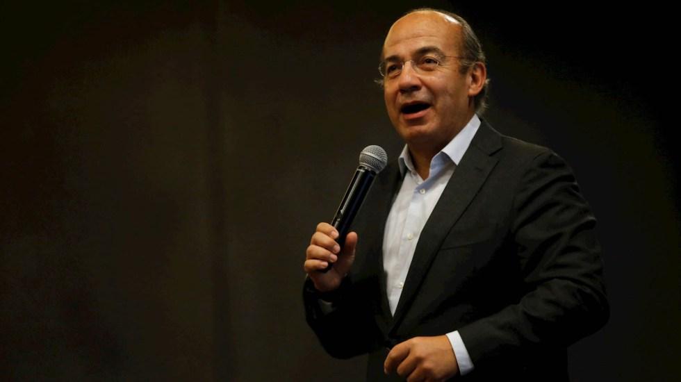 Comandante del GAIN debe ser protegido de inmediato: Felipe Calderón - Felipe Calderón Hinojosa expresidente