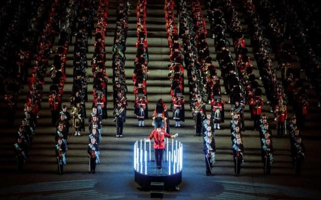 Bandas militares de todo el mundo se reúnen en Edimburgo - festival militar edimburgo