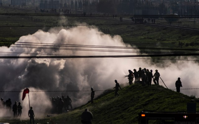 Fuga de gas en el Edomex afecta suministro de agua potable en cuatro municipios - fuga de gas