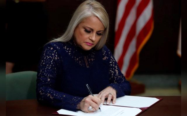 """Gobernadora de Puerto Rico pide reunirse """"cuanto antes"""" con Trump - Gobernadora Puerto Rico"""