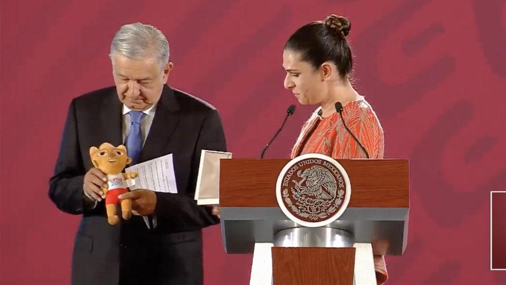 Acabar con el huachicoleo en el deporte fue una labor titánica: Guevara - Conferencia AMLO 12 de agosto. Captura de pantalla