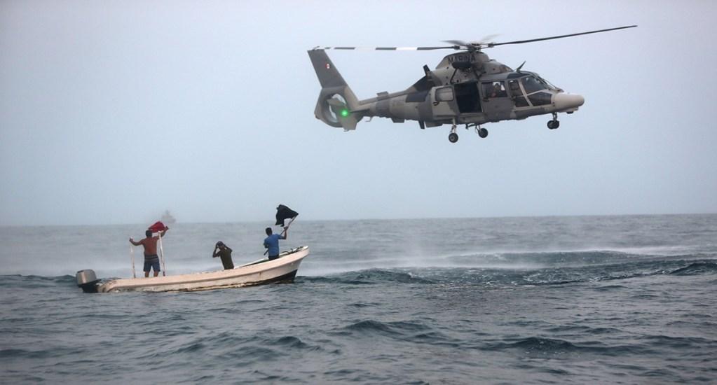 Semar deberá informar financiamiento a tareas de seguridad en estados - Helicóptero de la Marina. Foto de Semar