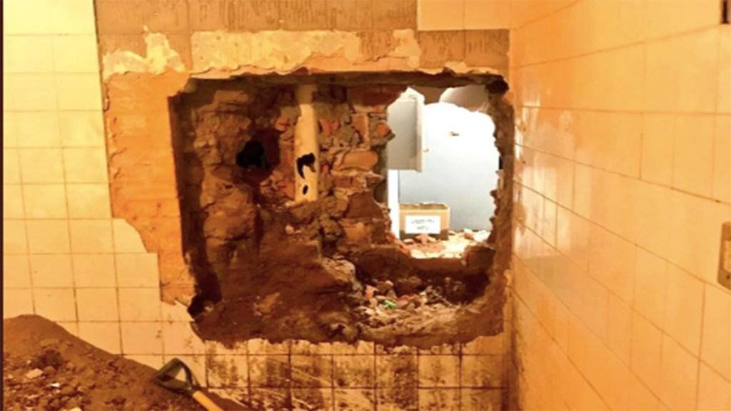 Destroza pared y roba banco en San Luis Potosí. Noticias en tiempo real