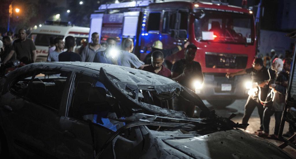 Explosión frente a hospital de El Cairo deja al menos 17 muertos - Foto de EFE