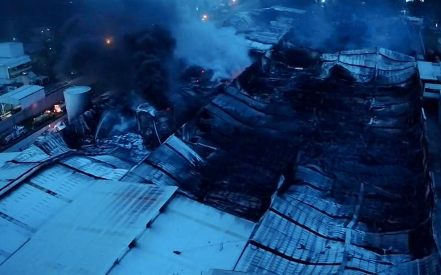Controlan incendio en Ciudad Industrial de Morelia tras más de 13 horas - incendio ciudad de industrial morelia