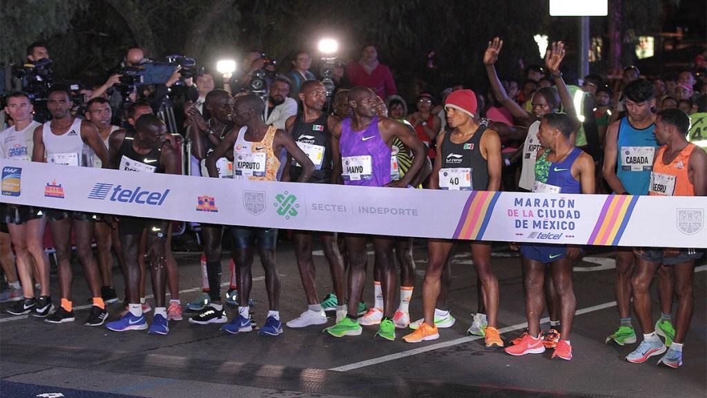 Concluye el Maratón de la Ciudad de México - inicia maratón ciudad de la méxico
