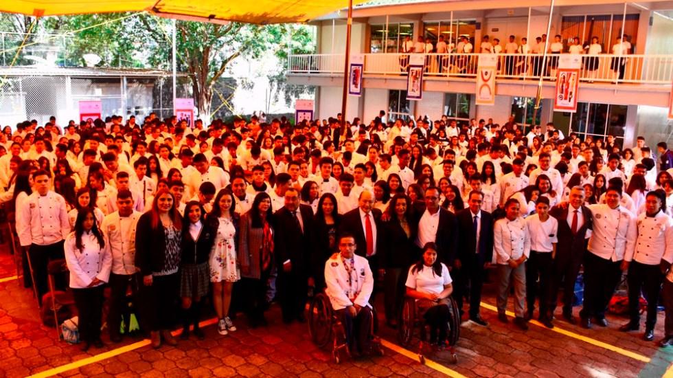 Inician ciclo escolar más de 300 mil estudiantes del Conalep - inicio curso conalep