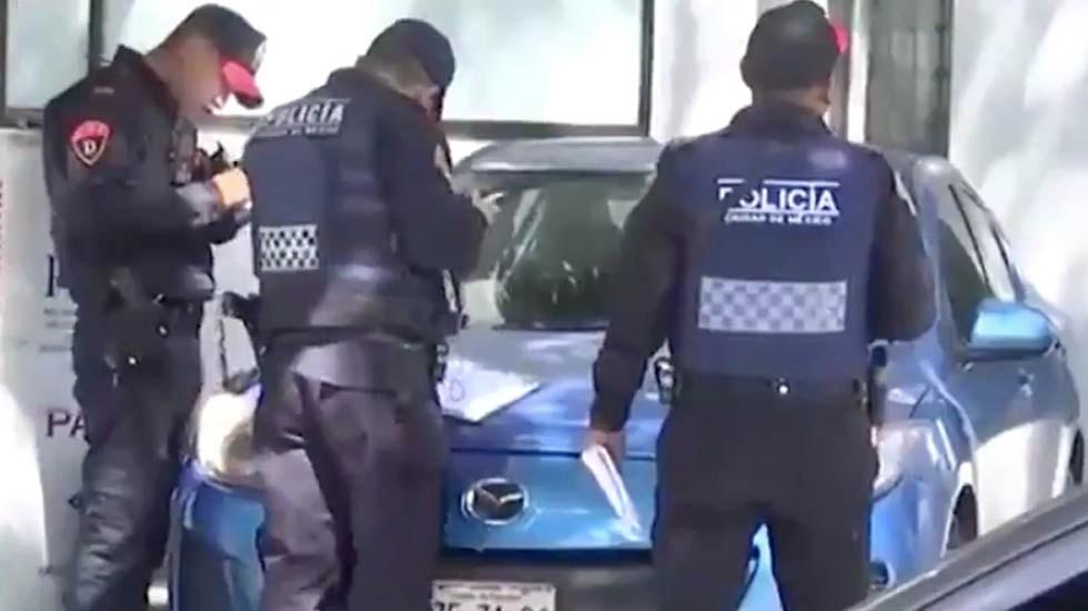 Detienen a hombre de la tercera edad que intentó asaltar banco con nota intimidatoria - Intento Robo banco Narvarte