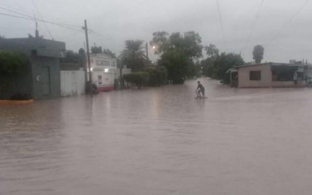 'Ivo' provoca fuertes lluvias e inundaciones en Sinaloa - Imagen de las inundaciones de los últimos días en Sinaloa. Foto de Luz Noticias