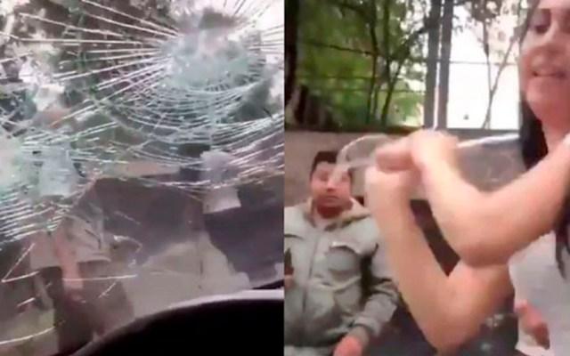 PGJ investiga agresión a conductora tras choque en Tlalpan - investiga pgj agresión a conductora en tlalpan