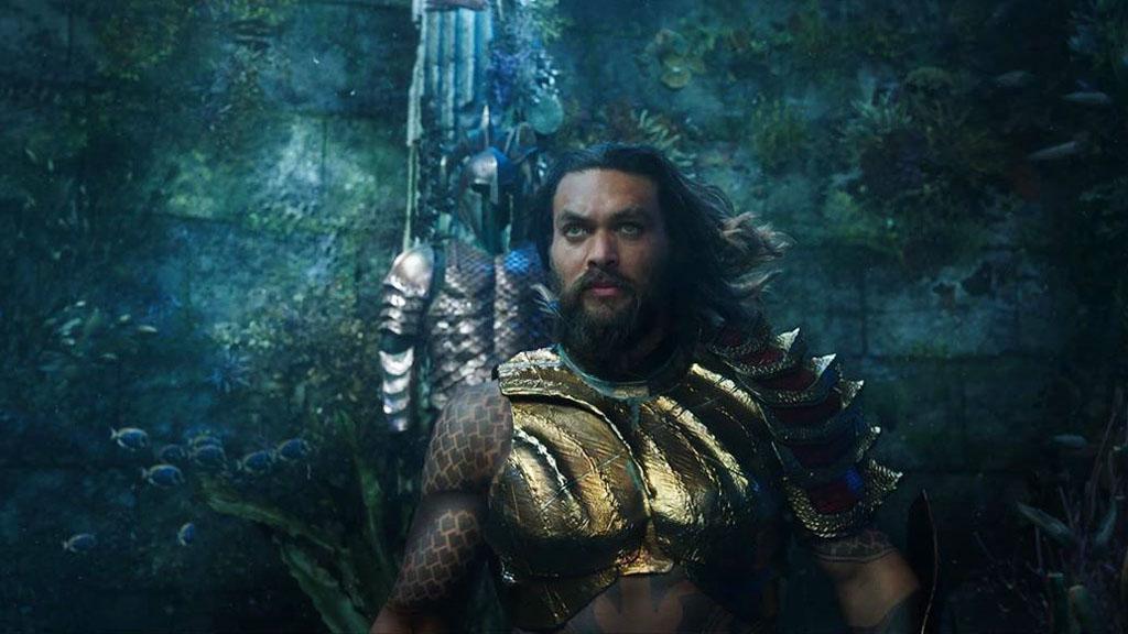 Jason Momoa dejaría Aquaman 2 para impedir construcción de telescopio - Jason Momoa en Aquaman. Foto de @aquamanmovie