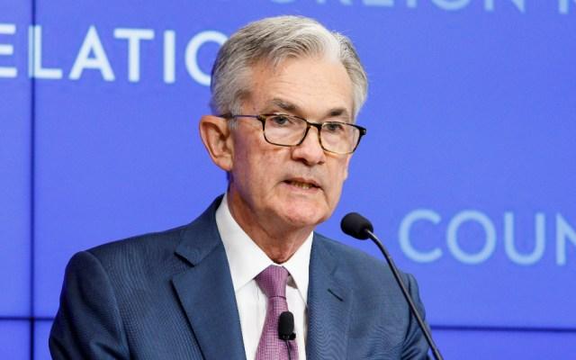 """Reitera Powell que la Fed actuará """"como sea apropiado"""" - Foto de EFE"""