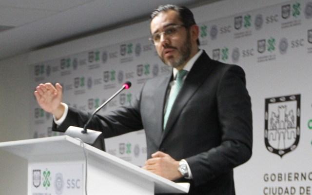 Jesús Orta descarta complicidad del C5 en robo a Casa de Moneda - Jesús Orta