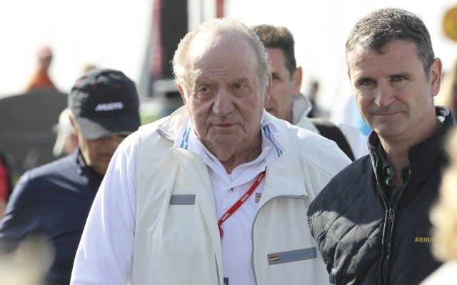 Operarán del corazón al rey emérito Juan Carlos de España - Juan Carlos de Borbón. Foto de EFE