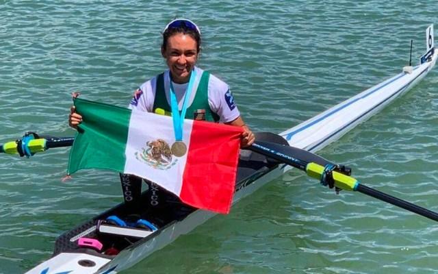 Kenia Lechuga gana oro en remo en Panamericanos Lima 2019 - Kenia Lechuga