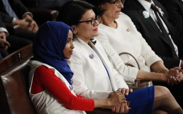 Trump pide a Israel no permitir entrada de legisladoras musulmanas - Legisladoras demócratas que irían a Israel. Foto de EFE