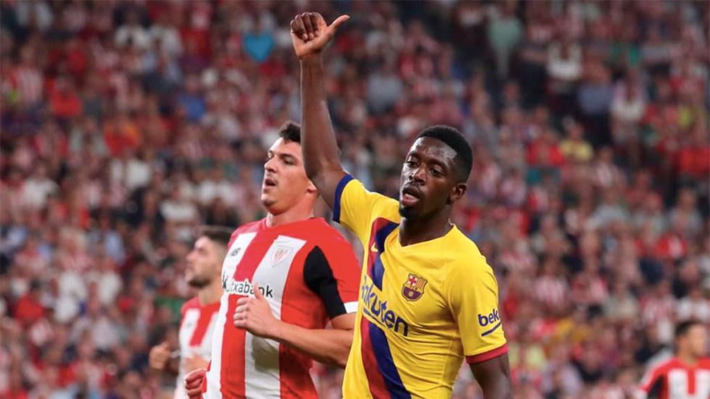 Dembélé fuera de las canchas cinco semanas por rotura fibrilar - lesión dembélé barcelona