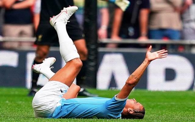Operarán a Sané por daño en el ligamento anterior cruzado - lesión leroy sané rodilla operación