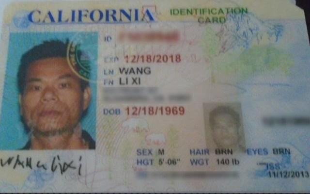 Muere tras desobedecer orden de policía en EE.UU.; no sabía inglés - Li Xi Wang. Foto de Departamento de Policía de Chino, California