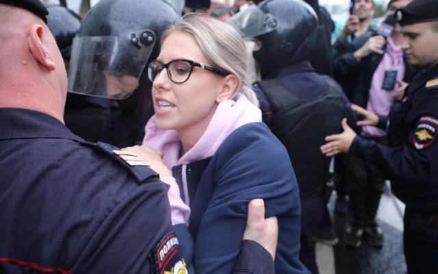 Detienen a dirigente opositora y a decenas de manifestantes en Moscú - Liubov Sobol