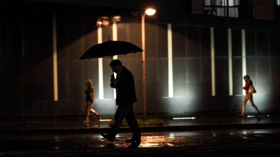 Alerta Amarilla en nueve alcaldías por lluvia - Lluvia Ciudad de México tormentas precipitaciones