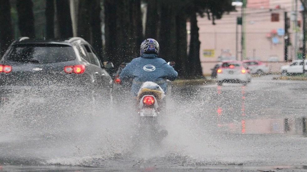 Alerta amarilla por lluvias en nueve alcaldías y granizo en Tlalpan - Foto de Notimex