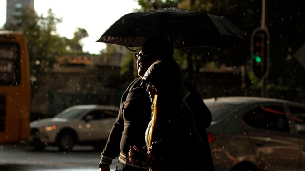 Persisten las lluvias en la mayor parte del país - lluvias vespertinas