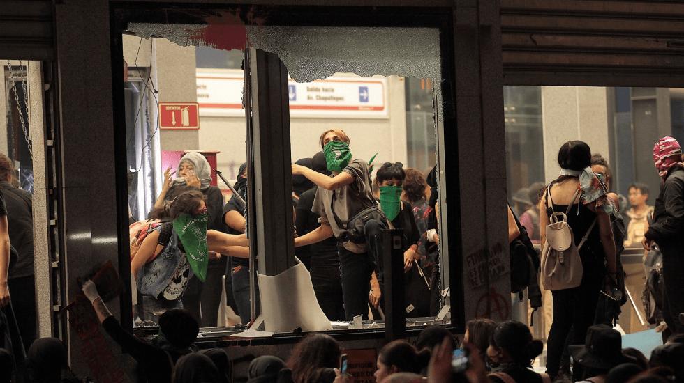 Violencia contra las mujeres no se resuelve con más violencia: Sheinbaum - Foto de Notimex