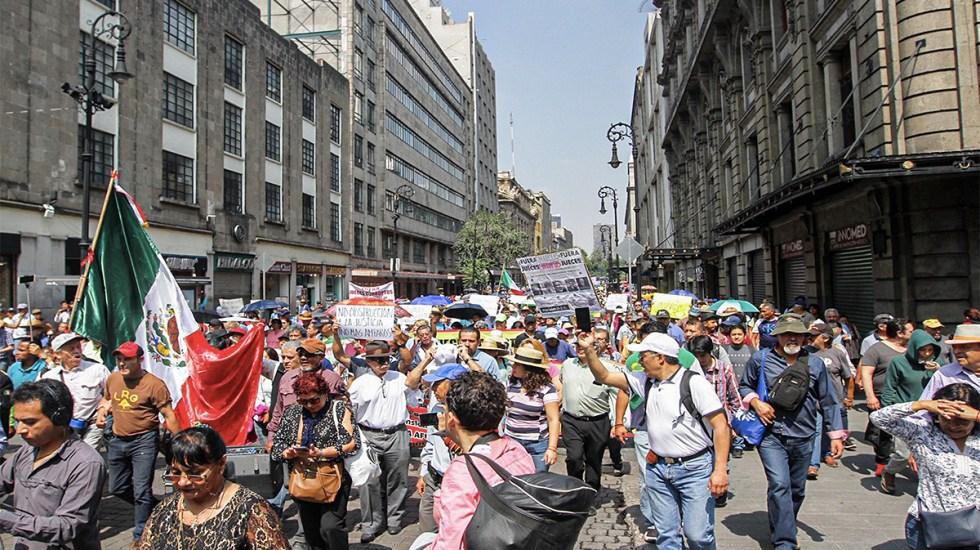 Al menos ocho manifestaciones este viernes en la Ciudad de México - manifestaciones movilizaciones ciudad de méxico