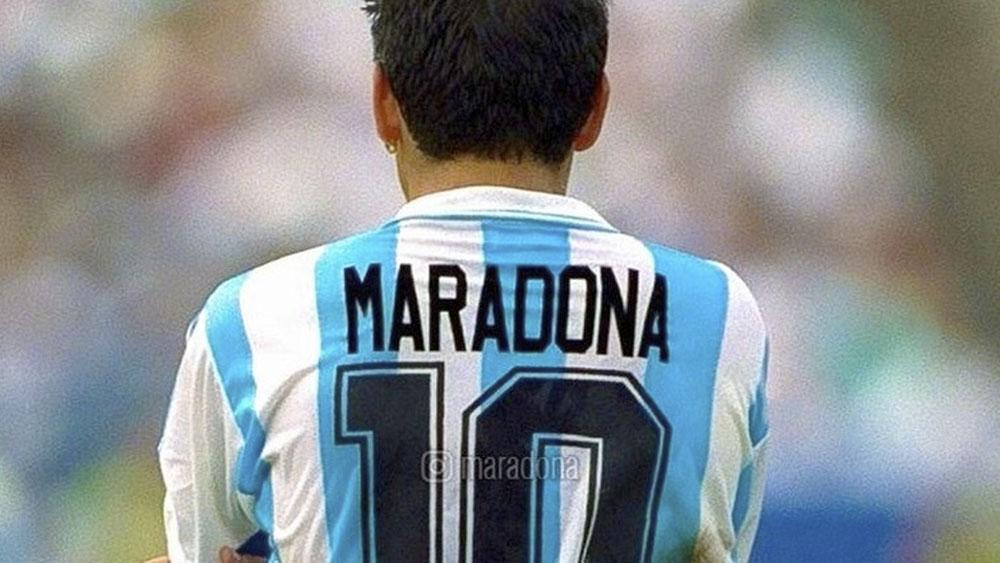 Registran departamento de ex esposa de Maradona a pedido del futbolista - maradona