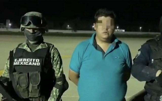 Dictan prisión preventiva a detenido ligado a 'El Carrete' - Marco N La Kika