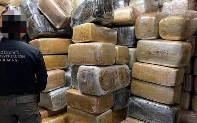 Decomisan nueve toneladas de mariguana en inmueble de Tijuana - mariguana