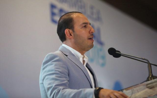Cortés asegura disponibilidad del PAN para construir nuevas mayorías - Dirigente nacional del PAN. Foto de @MarkoCortes