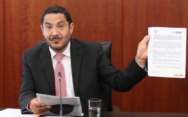 Monreal es faccioso y una persona que no tiene credibilidad: Martí Batres - Foto de Notimex