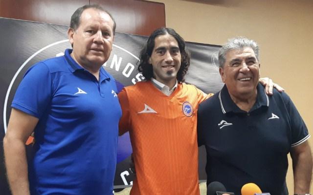 Matías Britos fue presentado como nuevo jugador de Correcaminos - Foto de @CFCorrecaminos